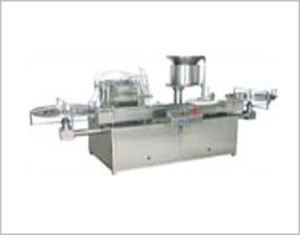 Vial Filling Stoppering Machine