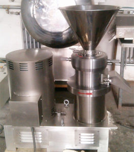 High Efficiency Commercial Peanut Butter Colloid Mill Machine For Food manufacturers India, Pharmaceutical Milling, Colloid Mill Machines, Colloid Mill Machine Manufacturer, Supplier, Best Price in Mumbai, India