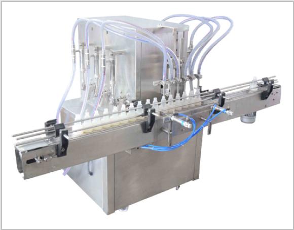 Semi Auto Volumetric Liquid Filling Machine